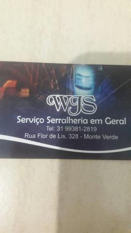 Serralheria /fabricação de toldos