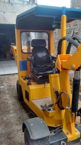 Vendo ou troco máquina de assentamento de paver - Foto 5
