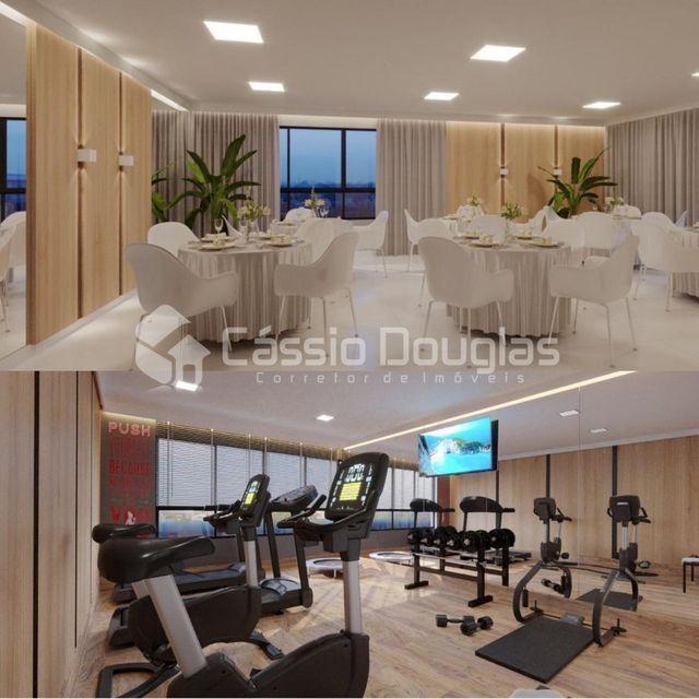 (Em construção) Apartamento 2 quartos no Bessa, com área de lazer e elevador - Foto 4