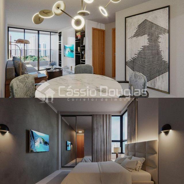 (Em construção) Apartamento 2 quartos no Bessa, com área de lazer e elevador - Foto 6