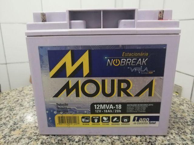 Bateria para nobraique nova na garantia 18h 12 v - Foto 4