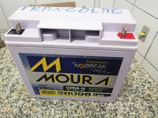 Bateria para nobraique nova na garantia 18h 12 v