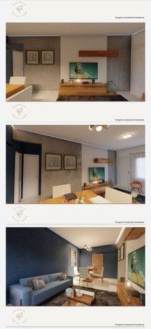 Vendo casa linear com 2 quartos sendo 1 suíte , area gourmet e garagem - Chácara Mariléa - Foto 8