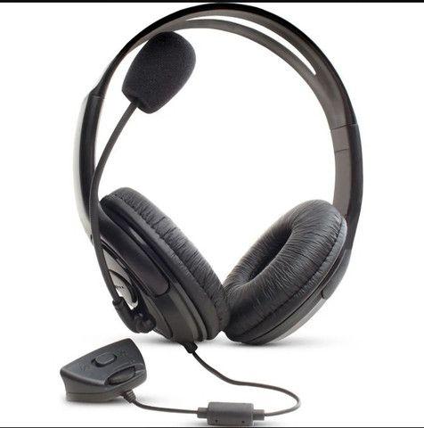 Fone Xbox 360 com microfone - Foto 2