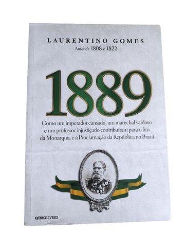 Livro: 1889 - História do Brasil