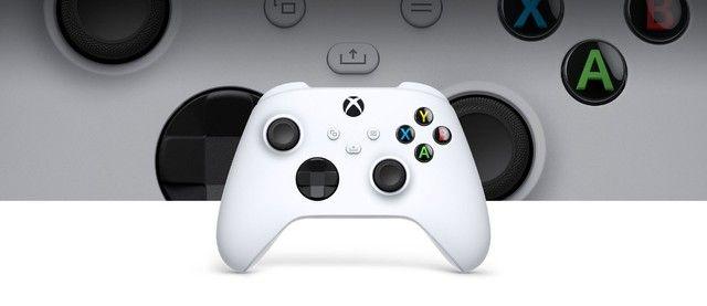 Controle Sem Fio Xbox Series Robot White - Novo, Original e Lacrado - Foto 4