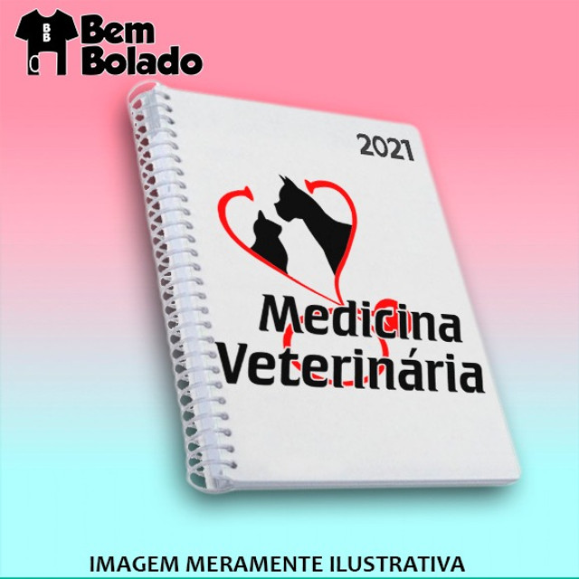 Agenda 2021 Veterinário Veterinária Medicina - Foto 3