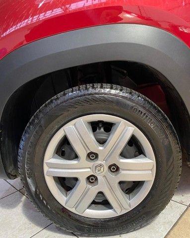 Renault Kwid 2021 1.0 Flex Zen Completo Manual Vermelho Estudo Troca e Financio - Foto 15