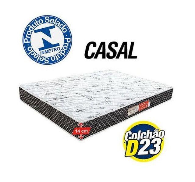 Colchão Casal modelo com espuma - pronta entrega   Temos outros produtos - Foto 4