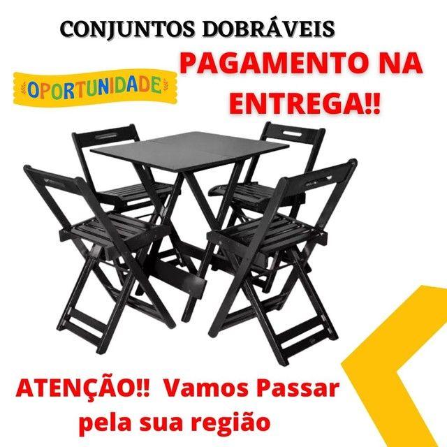 jogos dobráveis de mesas e cadeiras apartir de 239?vendas *