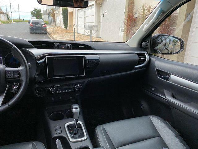 Toyota Hilux SRV 2.8 2018 único dono novíssima  - Foto 8