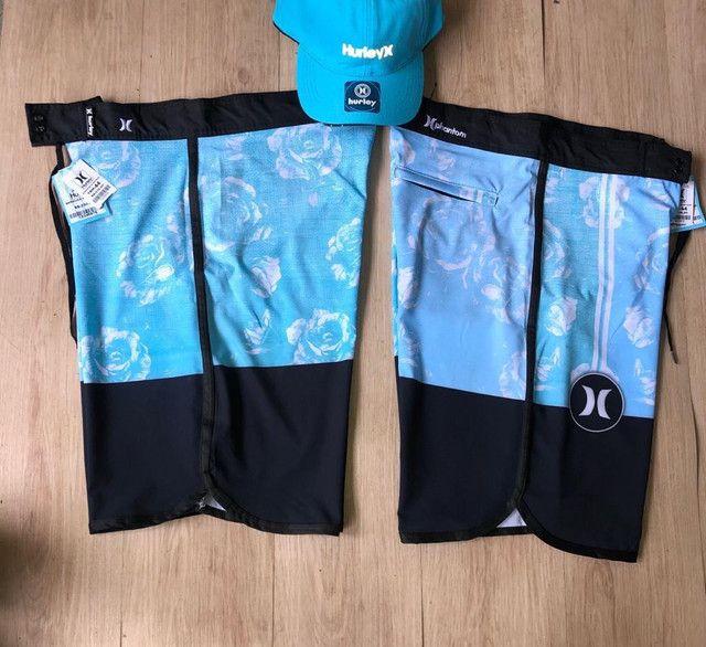 Shorts de praia Nike,hurey e oakley  - Foto 2