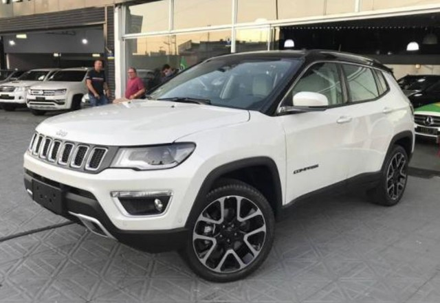 Jeep Compass LIMITED Diesel 2021/2021 zero PRONTA ENTREGA