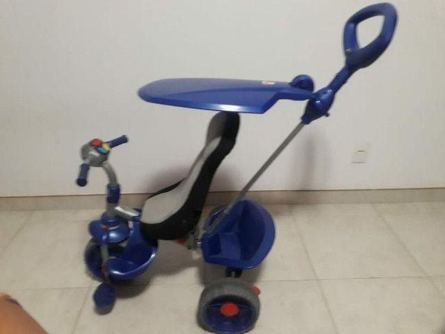 Triciclo smart confort bandeirande azul - Foto 3