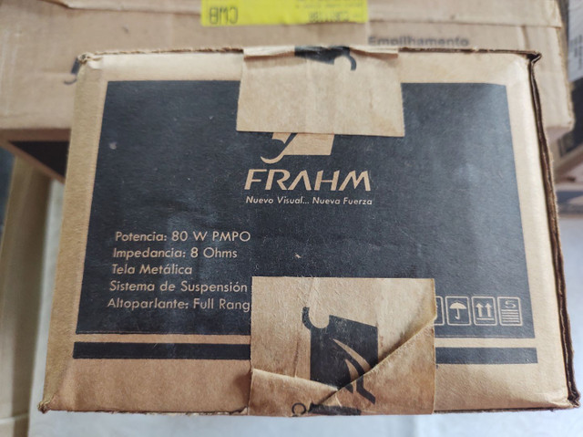 """Caixas acústicas 5"""" Full range 10W RMS Frahm - Foto 5"""