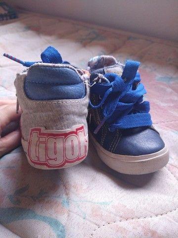 Tênis menino TIGOR original - Foto 4