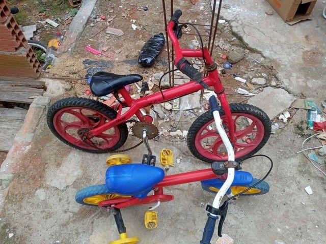 Duas bicicleta infatil  - Foto 2