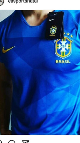Camisa nike brasil m e g na etiqueta