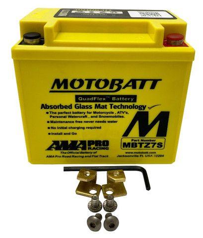 Bateria Motobatt Mbtz7s Ytz7s Crf450 Zx10r Wr250 Wr450 Xre300 Ttr230 Wr250 Pcx150 ytx5l-bs