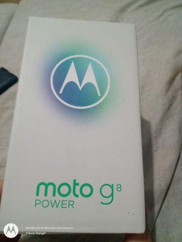 Moto G8 power o brabo - Foto 2