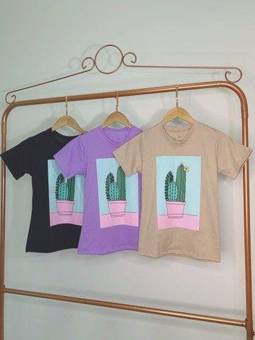 Blusas femininas ( T-shirt )  - Foto 2