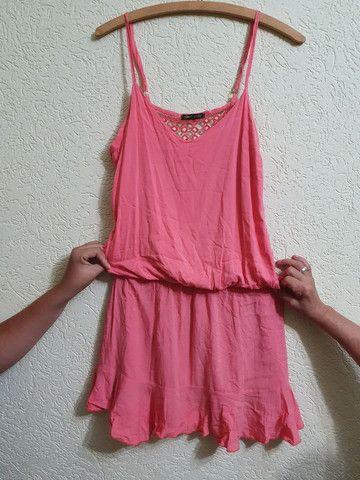 Vestido todo aberto nas costas  tamanho M - Foto 5