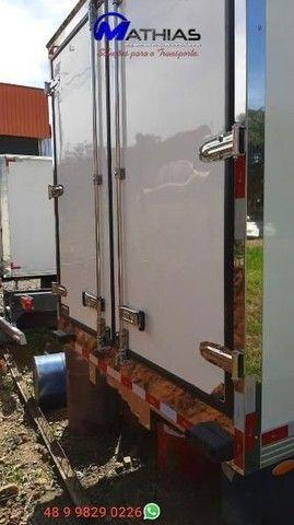 bau termico camara fria carroceria refrigerada novos com garantia e instalados  - Foto 3