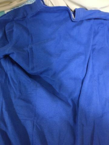 Blusa Moletom Lacoste Azul Tamanho 5 Original e Usada - Roupas e ... badc22f6f1
