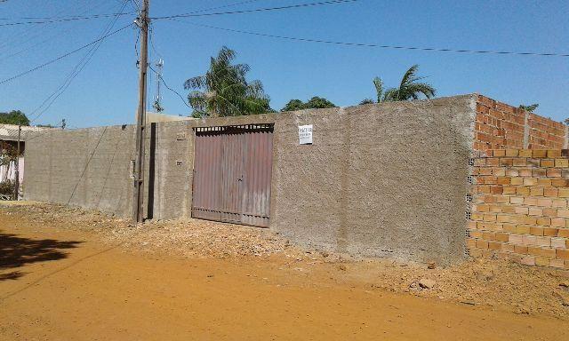 Em Porto Velho -Terreno medindo 20x30 c casa