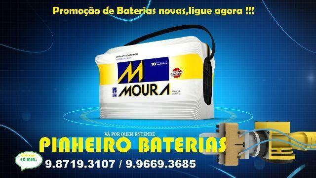 Bateria Moura melhor rs 309,99