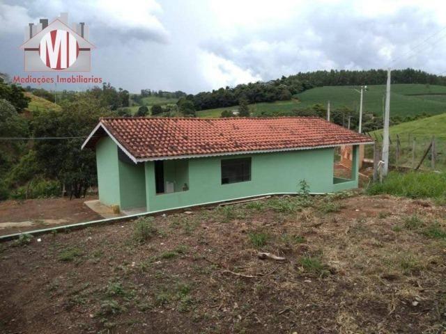 Excelente chácara com 02 casas, terreno plano, 1800 metros, perto do asfalto e linda vista - Foto 15