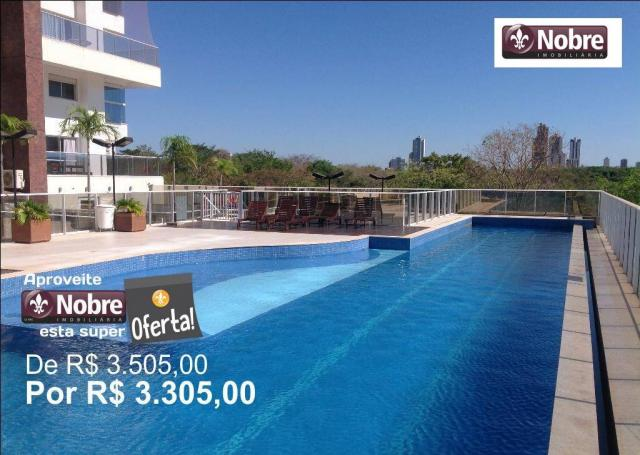 Apartamento com 4 dormitórios para alugar, 151 m² por r$ 3.805,00/mês - plano diretor sul