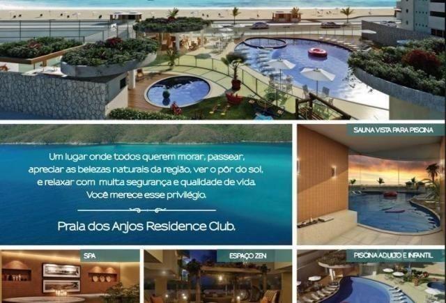 Frente ao mar espetacular 02 e 03 quartos com 03 suites e Coberturas Praia dos Anjos - Foto 4