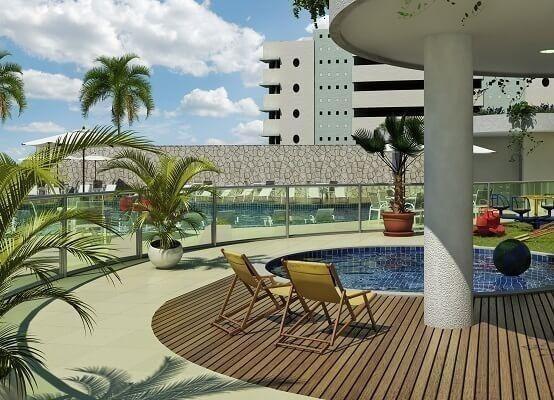 Frente ao mar espetacular 02 e 03 quartos com 03 suites e Coberturas Praia dos Anjos - Foto 7
