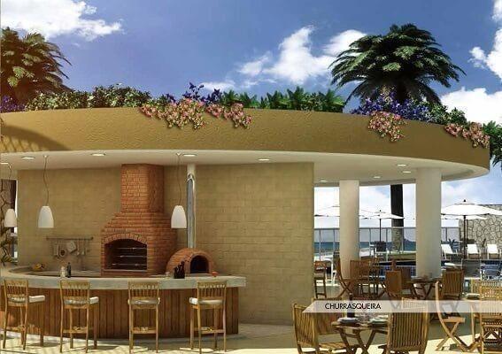 Frente ao mar espetacular 02 e 03 quartos com 03 suites e Coberturas Praia dos Anjos - Foto 11