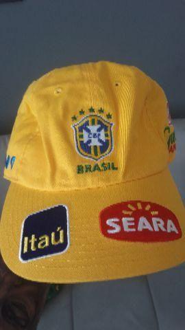 Bonés exclusivos seleção brasileira - Esportes e ginástica - Irajá ... cb26a39d280