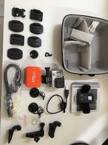 Câmera GoPro Hero4 Black NOVA NUNCA USADA