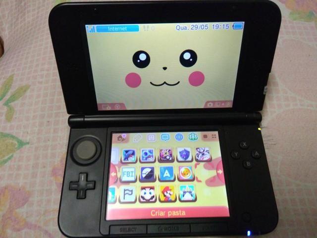 Troco Ps3 ou Xbox - Nintendo 3DS xl desbloqueado
