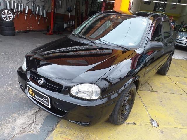 Gm - Chevrolet Corsa sedan entrada no cartão ficha pelo whatsap - Foto 15
