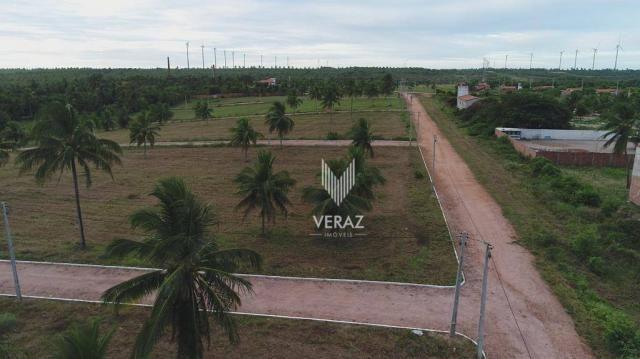 Terreno à venda, 300m² por r$ 22.000,00 - trairi - ceará - trairi/ce - Foto 2