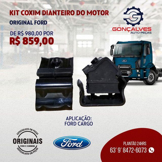 KIT COXIM DIANTEIRO DO MOTOR ORIGINAL FORD