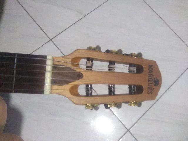 Vendo violão elétrico MARQUÊS - Foto 5