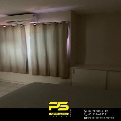 Apartamento com 3 dormitórios à venda, 73 m² por R$ 400.000 - Tambaú - João Pessoa/PB - Foto 11