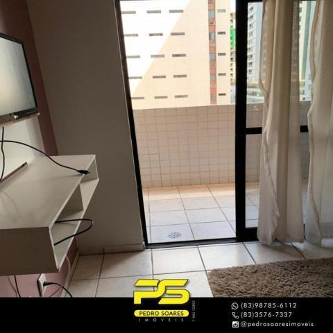 Apartamento com 3 dormitórios à venda, 73 m² por R$ 400.000 - Tambaú - João Pessoa/PB - Foto 2