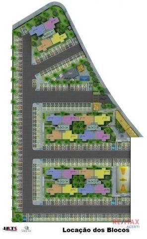 Apartamento com 2 dormitórios à venda, 45 m² por R$ 122.590,00 - Shopping Park - Uberlândi - Foto 6