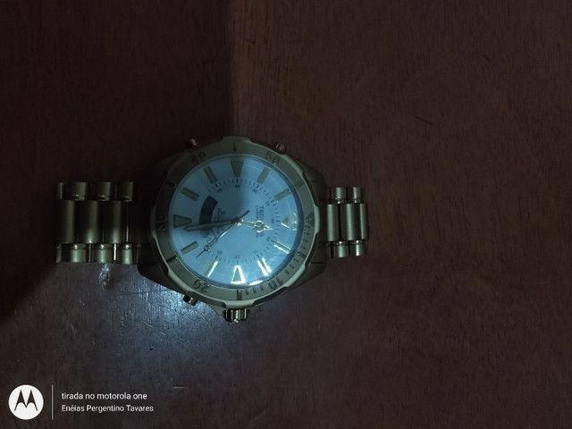 Relógio TECHNOS SKYDIVER PROFISSIONAL Vendo ou troco por celular  - Foto 2