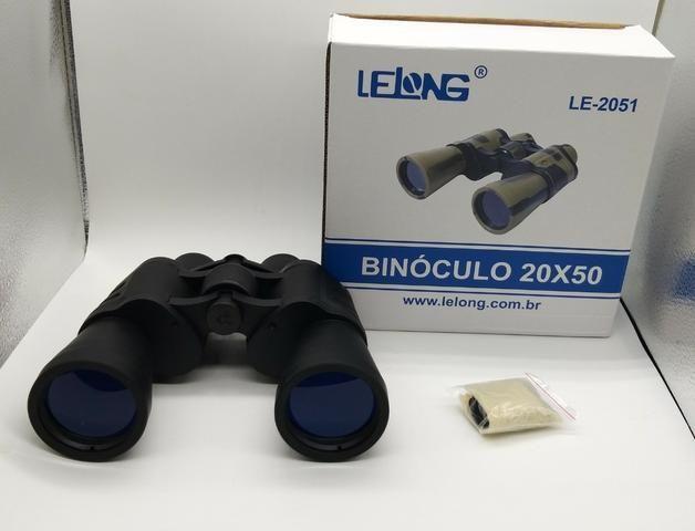 Binóculos Profissional 20x50 Longo Alcance