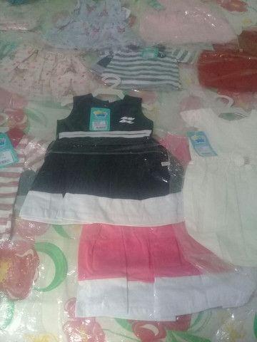 Vendo roupas infantis