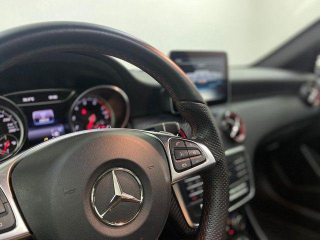 Mercedes a-250 SPORT 2017 Blindada top c/23.000km - Foto 19