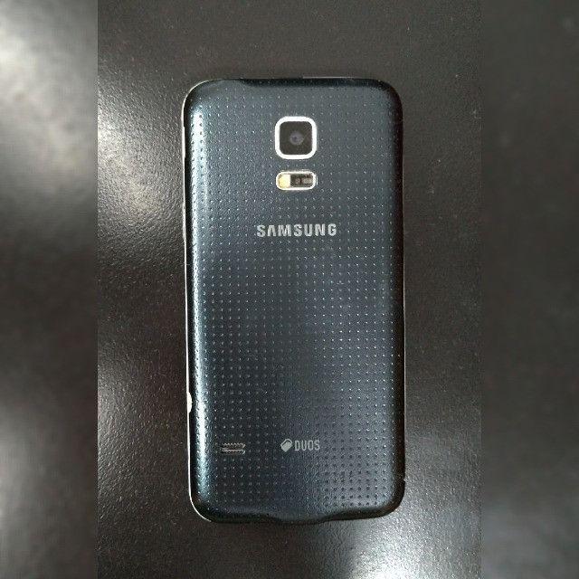 Celular Samsung Galaxy S5 Mini Com 4 Capinhas - Foto 2